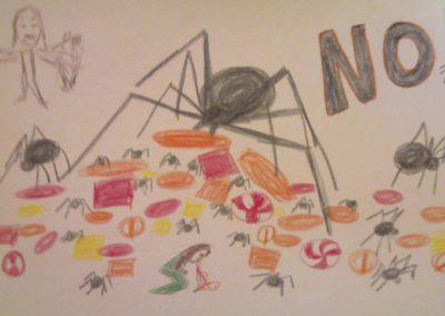 12-08 spider candy